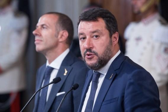 Salvini roept op tot grote betoging in Rome