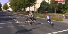 Remco Evenepoel ontsnapt aan klein drama tijdens lange vlucht, Lampaert stuit op sterke Kristoff in Ronde van Duitsland