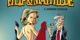 Blote koningin Mathilde siert cover van nieuw stripalbum