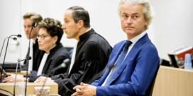 'Minister bemoeide zich met de vervolging van Wilders'