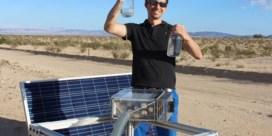 Woestijnlucht wordtwater