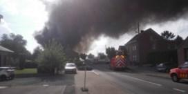 Zware brand in tuinbouwbedrijf in Herne