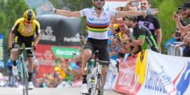 Alejandro Valverde toont wie de baas is