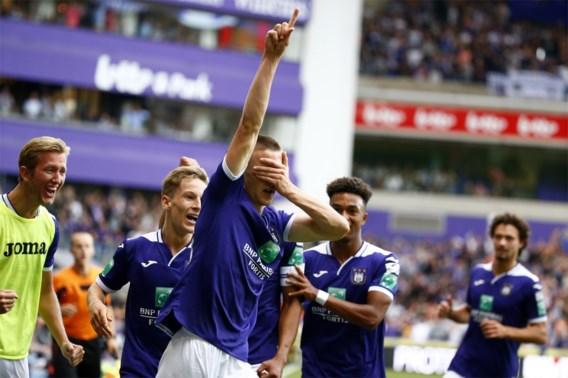 Anderlecht heeft eindelijk zijn eerste zege beet: 1-0 tegen Standard
