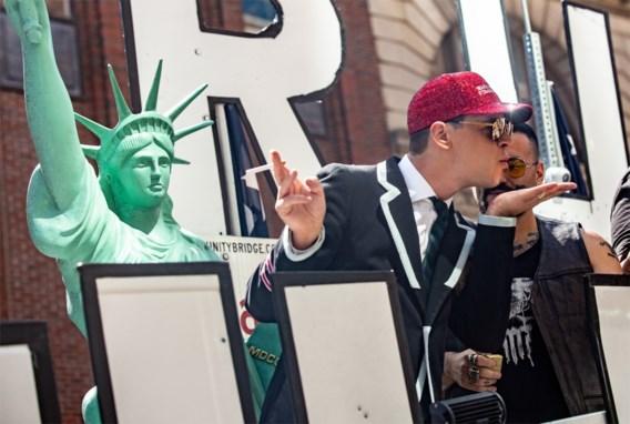 Hetero's houden 'Straight Pride' in Boston