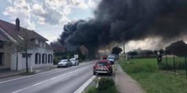 Brand bij Van Sinay in Kokejane blijkt aangestoken