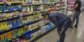 Gek van de stress in de supermarkt