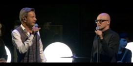 Philippe Geubels en Willy Sommers samen op het podium