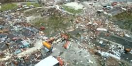 Luchtbeelden tonen ravage op Bahama's na orkaan Dorian