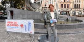 Peuk weggooien kost in Kortrijk voortaan tot 55 euro