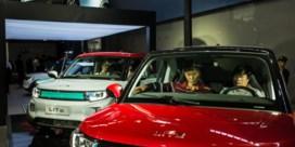 China stuit opmars stekkerauto
