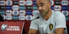 """Roberto Martinez: """"Ik ga niet experimenteren met de Rode Duivels tegen San Marino"""""""