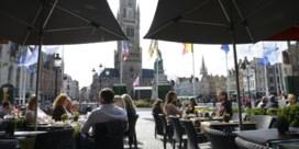 Straks vaste terrassen tot na nieuwjaar in Brugge