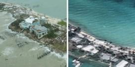 Voor en na orkaan Dorian. 'Alles is weg, behalve de lichamen'