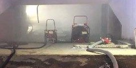 Honderdtal flatbewoners geëvacueerd na brand