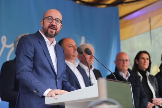 Premier Michel: 'Tijd voor actie'