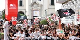 Klimaatactivisten palmen rode loper in van filmfestival Venetië
