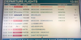 Vlogen Rode Duivels met Sabena naar Brussel? Foutje op luchthaven van Rimini
