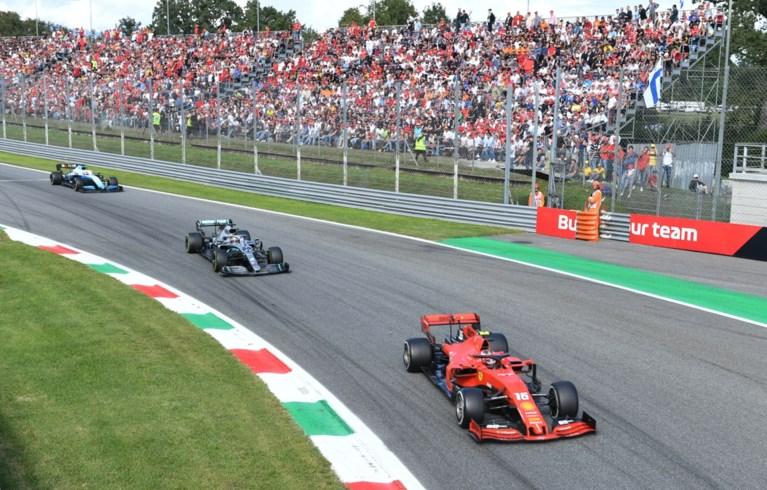 Charles Leclerc bezorgt Ferrari-fans een delirium met zege in zinderende Grote Prijs van Italië