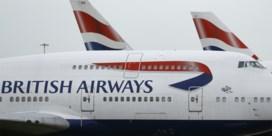 Bijna alle vluchten British Airways geschrapt door staking