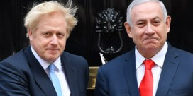 Benjamin Netanyahu maakt ongelukkige verspreking over Boris Johnson