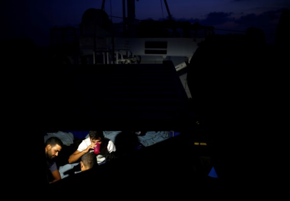 Reddingsschip Alan Kurdi vraagt hulp voor vijf overgebleven opvarenden