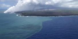 Lava doet plankton bloeien