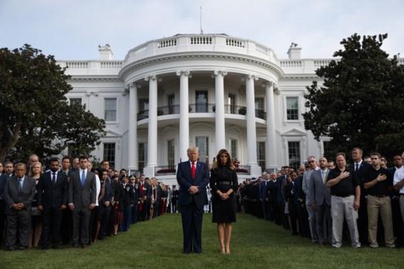 Trump belooft tijdens herdenking 11 september 'strijd tegen terroristen te verharden'