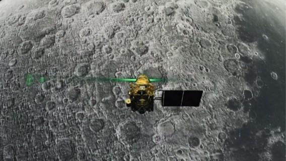 Indiaas ruimtevaartagentschap kon maanlander Vikram lokaliseren