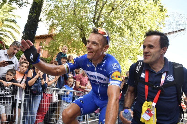 """Philippe Gilbert pakt tweede ritzege in Vuelta na dolle waaierrit: """"Eentje voor in de geschiedenisboeken"""""""