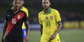 Brazilië met Neymar lijdt tegen Peru eerste nederlaag sinds verlies tegen Rode Duivels op WK
