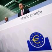 Draghi vertrekt bij ECB met een 'big bang'