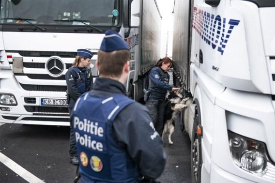 Politie Antwerpen pakt 43 transmigranten op bij actie langs E313 en E34