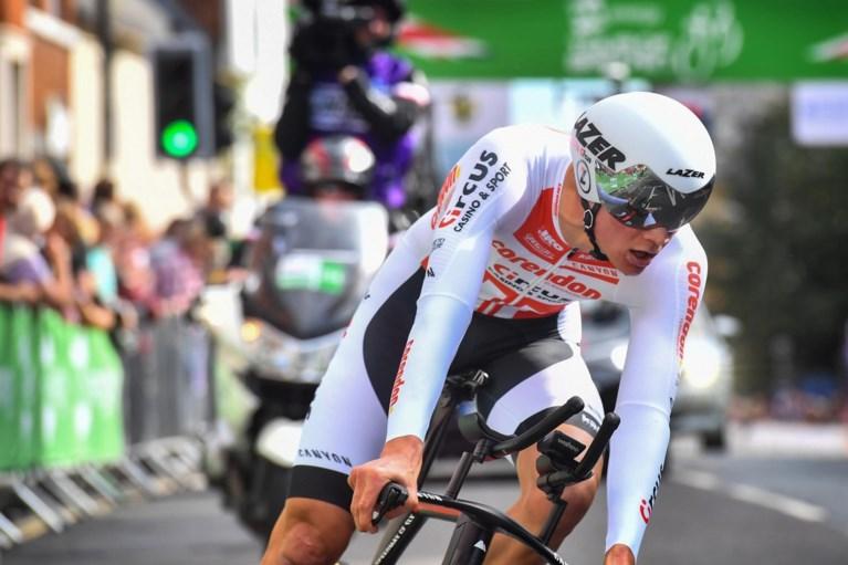 Mathieu van der Poel opnieuw leider in Ronde van Groot-Brittannië, Edoardo Affini wint tijdrit