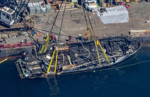 Volledige bemanning uitgebrande boot Californië lag te slapen toen brand uitbrak