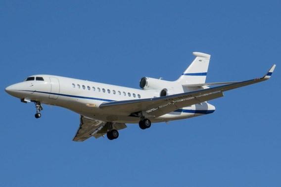 Regering huurt twee Falcon 7X-toestellen voor VIP's