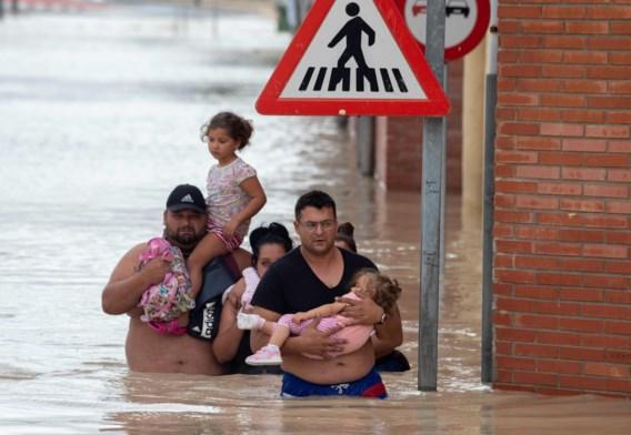 Vijfde dode door overstromingen in Spanje
