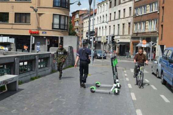 Brusselse deelsteppers brengen gevaarlijke plaatsen in kaart