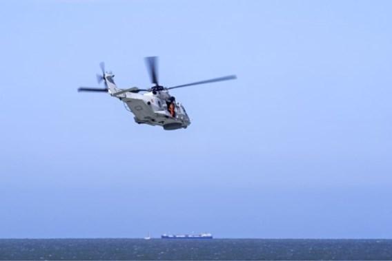 Helikopter ingezet in zoekactie naar twee vermiste duikers aan Belgische kust
