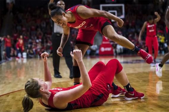 Indrukwekkende Emma Meesseman stuwt Washington naar winst in halve finale WNBA-play-offs