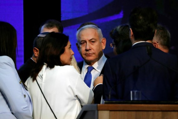 (Voorlopig) gelijkspel tussen Netanyahu en uitdager Gantz in Israël