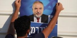 Bibi's storm heet Lieberman
