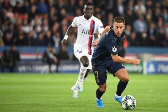 Onzichtbare Eden Hazard met Real Madrid pijnlijk onderuit bij PSG op halve sterkte, Thomas Meunier scoort