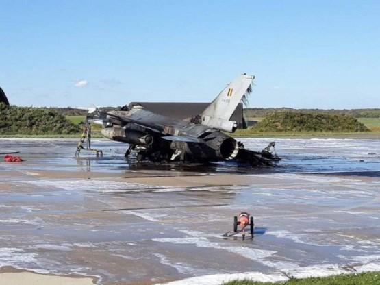 Overzicht van Belgische crashes met een F-16 sinds 1979