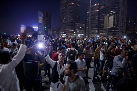 Zeldzaam protest in Egypte tegen president: betogers opgepakt