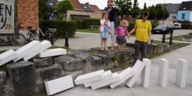 Domino van 7.000 bouwstenen verbindt Gentse wijken