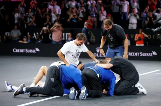 Europa wint ook derde editie van Laver Cup tegen de rest van de wereld