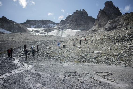 Zwitsers 'begraven' verdwenen gletsjer