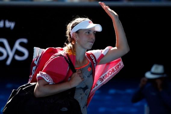 Elise Mertens raakt in halve finale in Osaka niet voorbij eerste reekshoofd Osaka