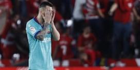 Zelfs Messi volstaat niet